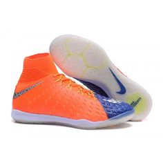 wholesale dealer 23ebc 9162b Negozio per Scarpini Calcio Nike Hypervenom Phantom III DF IC Arancione  Blu. Soccer Cleats,