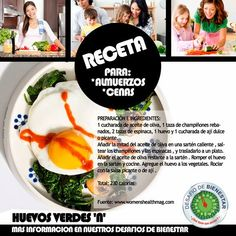 100% BIENESTAR =: ¿Estás buscando una rica y fácil receta para cenar... Para más información no te pierdas nuestros cursos de nutrición todos los Sábados. Cheilali Tarazona 04125948347