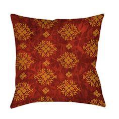 Thumbprintz Red Palms Decorative Throw Pillow - 17250681 - Overstock.com Shopping - Great Deals on Throw Pillows