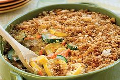 Zucchini and Summer Squash Casserole | The Cooking Mom