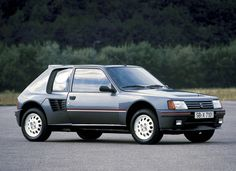 971ba14962 Peugeot 205 - nice perspective of the car showing the rear sub-frame…
