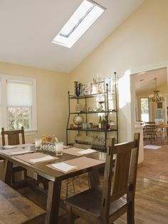 Find the Perfect Skylight for Your Home >> http://blog.diynetwork.com/maderemade/2014/10/06/find-the-perfect-skylight-for-your-home/?soc=pinterest