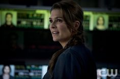 "The 100 --  ""Pilot"" -- Image: HU101e_17883 -- Pictured: Paige Turco as Abby -- Photo: Cate Cameron/The CW -- © 2014 The CW Network. All Rights Reserved."