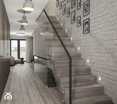Aranżacje wnętrz - Schody: Projekt wnętrz mieszkania - Małe wąskie schody jednobiegowe drewniane, styl nowoczesny - ARCHISSIMA. Przeglądaj, dodawaj i zapisuj najlepsze zdjęcia, pomysły i inspiracje designerskie. W bazie mamy już prawie milion fotografii!