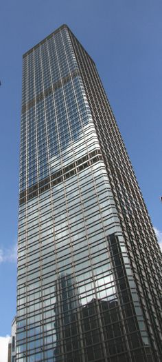 Cheung Kong Centre, Hong Kong, China by  Cesar Pelli & Associates; Leo A. Daly; Hsin Yieh Architects & Associates ::63 floors, height 283m