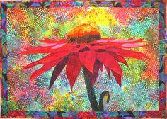 Cone Flower Quilt Pattern