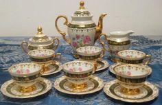 aparelho de chá dourado - Pesquisa Google