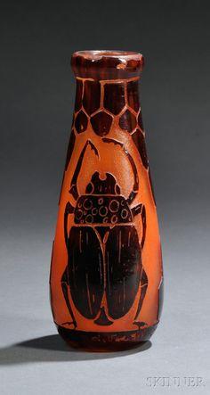 glas p 226 te de verre on glass vase and nancy dell olio
