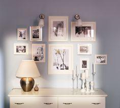 Ikea Bilderrahmen Collage ikea bilderrahmen wohnungsideen gallery wall wall