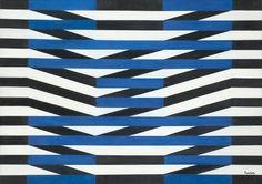 Luis Sacilotto, Sem Título, anos 1950 (óleo s madeira, 48 x 67cm)
