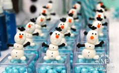 I love this Party Favor ideas from a Frozen themed birthday party with Lots of Really Cute Ideas via Kara's Party Ideas KarasPartyIdeas.com