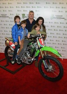 Shane McMahon, his wife Marissa, and their three sons Declan James, Kenyon Jesse, and Rogan.