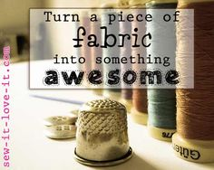 A website full of sewing patterns and tutorials. #sewing #patterns #tutorials