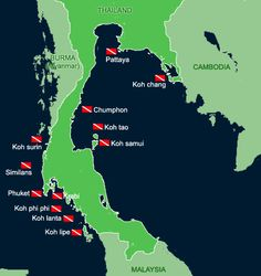 thailand dive packages