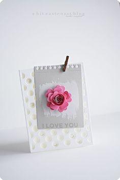 Distressed Hearts, Jumbo Abstract Art, Insert It - 3x4 Notebook Die-namics, Mini Hybrid Heirloom Rose, Polka Dot Cover-Up Die-namics - Keisha Campbell #mftstamps
