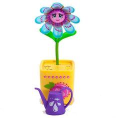 Silverlit Magic Blooms - blauw  Laat je vrolijke Magic Bloom van Silverlit dansen giechelen en mooie liedjes zingen! Geef de bloem water en zie hoe zij nog vrolijker wordt.  EUR 14.99  Meer informatie