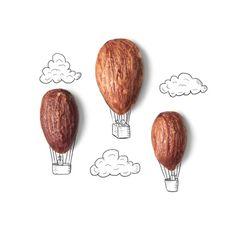 Conceptual Hot Air Balloons Foto e immagini stock Air Balloon, Balloons, Creative Photography, Art Photography, Banana Art, Buch Design, Wedding Cards Handmade, Instagram Blog, Creative Artwork