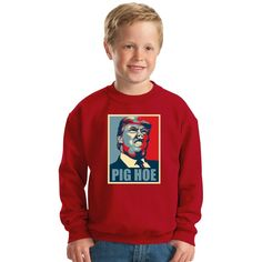 Pig Trump Kids Sweatshirt