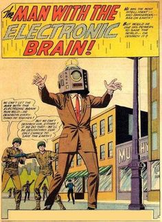 The Man with the Electronic Brain