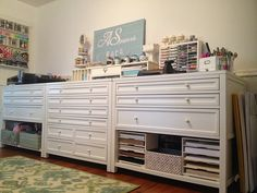 Craft Room, Martha Stewart Craft Furniture