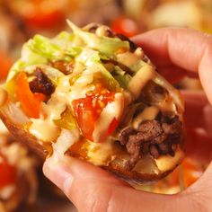 Big Mac Potato Skins - Food and Drink Big Mac, Beef Recipes, Cooking Recipes, Healthy Recipes, Cheap Recipes, Fast Recipes, Protein Recipes, Healthy Sweets, Tater Tots