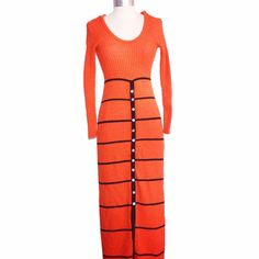 Vintage 70s Tricot by Youth Guild Maxi by MercantileRepublic