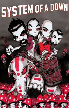 System of a Down animated, love!!!!!