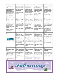 toddler meal planning for a month! diet plan for picky eaters Daycare Meals, Kids Meals, Toddler Menu, Toddler Food, Meal Plan For Toddlers, Whole Wheat Rolls, Chicken Marinara, Pear Fruit, Lunch Snacks
