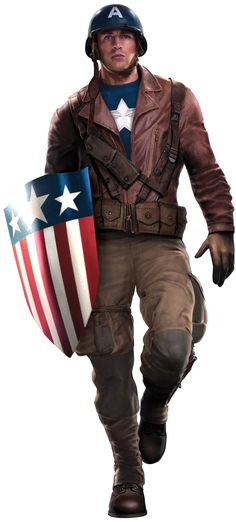 "Captain America's transition from comic to screen uniquely parallels Steve  Rogers' own journey to becoming the ""greatest soldier in history."" True to  the character's debut in 1941, Rogers' story begins during World War II.  Despite his small stature that deemed him unfit for military service, he  possessed qualities beyond the physical. His bravery and compassion  qualified him as the first and most successful recipient of Abraham  Erskine's completed Super Soldier Serum, which granted…"