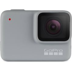 technology for minimalist adventure, travel .GoPro White — Waterproof Digital Action Camera with Touch Screen HD Video Photos Bar New York, Canon Eos, Nikon Digital Slr, White Camera, Carte Sd, Dslr Photography Tips, Creepy Photography, Smartphone, Camera Shop
