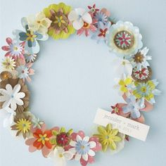 10 Pretty Paper Flower Tutorials | Spoonful