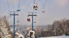 blue mountain, pa  I miss ski trips here