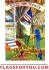 Bless Our Family Garden Flag Us Flags, Family Garden, Flag Decor, Garden Flags, American Flag, Blessed, Outdoor Decor, American Fl, American Flag Apparel