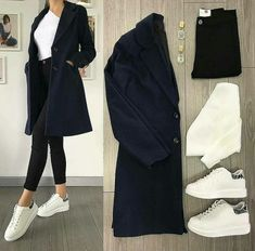 20 comfy outfits ideas for women - Bilder Land Modest Dresses, Modest Outfits, Chic Outfits, Trendy Outfits, Fall Outfits, Fashion Outfits, Womens Fashion, Fashion Shoes, Look Fashion