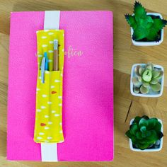 DIY Journaling Bookmark (and pencil holder) free sewing tutorial — SewCanShe | Free Daily Sewing Tutorials