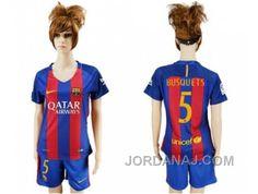 http://www.jordanaj.com/womens-barcelona-5-busquets-home-soccer-club-jersey.html WOMEN'S BARCELONA #5 BUSQUETS HOME SOCCER CLUB JERSEY Only $20.00 , Free Shipping!