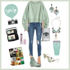 Mint, Betsey Johnson and Cute Jeans