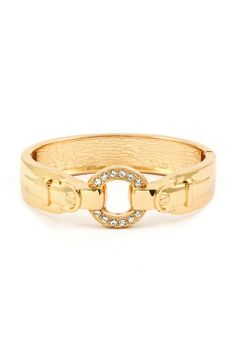 <3Leather braclet with studded circle gold.