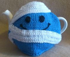 Mr Bump Tea Cosy made by Biskettblue