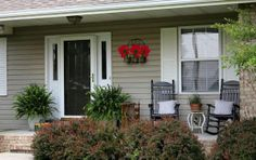 sunporch ideas   Decorate your porch for spring