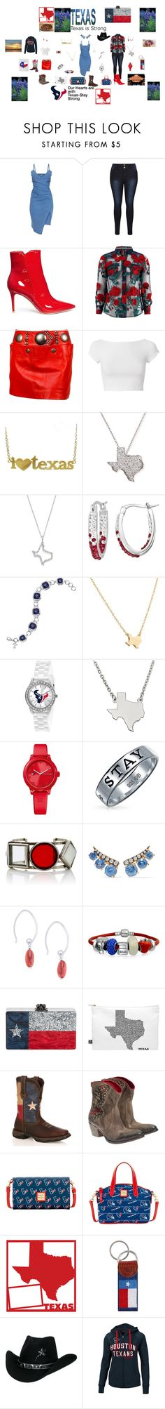 """""""Stay Strong Texas-Survivor's are always trendy!"""" by rebeccadavisblogger on Polyvore featuring Gianvito Rossi, Adam Selman, Issey Miyake, Helmut Lang, Jennifer Meyer Jewelry, Roberto Coin, KC Designs, LogoArt, Game Time and Tommy Hilfiger"""