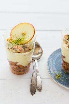 Apple Crumble Trifle