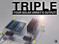 Picture of TRIPLE YOUR SOLAR ARRAY'S OUTPUT!