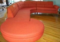 1950'S Sectional Sofa | Danish Modern Mid-Century 1950's four piece Sectional Sofa