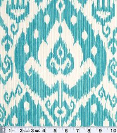 I want fabric like this to recover my couch & chair cushions to put on set repainted white. Outdoor Fabric- Better Homes & Gardens Yani Breeze