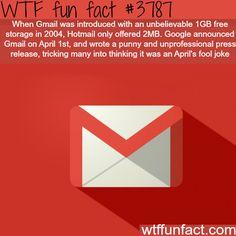Google April fools - WTF fun facts