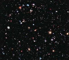 Hubble picture shows deepest-ever view of the Universe depicting thousands of galaxies  My most favourite picture ever taken by the Hubble Space telescope, ultra deep field!!!!