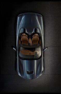 ♂ 2014 Chevrolet Corvette Stingray Convertible #car #wheels