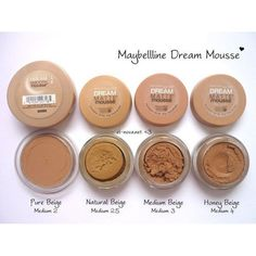 mousse maquillaje