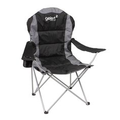 Gelert   Gelert Deluxe Camping Chair   Camping Tables and Chairs